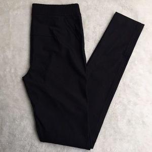 Diane von Furstenberg Black Amours Skinny Pants 10